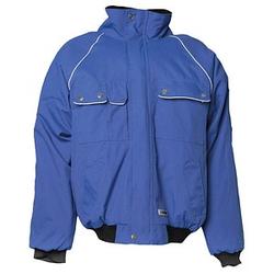 PLANAM unisex Arbeitsjacke CANVAS 320 blau Größe 4XL