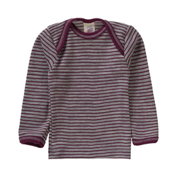 Engel Unterhemd Baby Unterhemd für Jungen Wolle/Seide lila 98/104