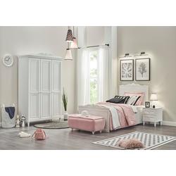 Möbel-Lux Jugendzimmer-Set Lory, (Set, Bett, Nachtkommode, Schrank), Bett, Schrank, Nachtkommode