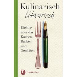 Kulinarisch literarisch als Buch von