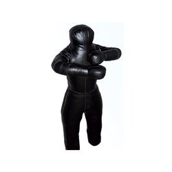 Ringerpuppe-Wrestling Dummy schwarz PU