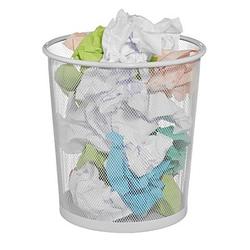 Zeller Papierkorb 14,0 l weiß