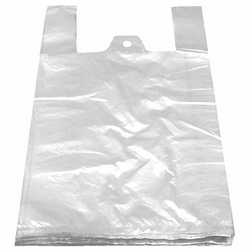 Hemdchentragetaschen HDPE weiß 300+180x550mm, 100 Stk.
