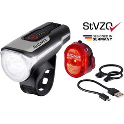 SIGMA SPORT Fahrradbeleuchtung AURA 80 USB Frontleuchte