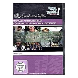 Umfrage / Meinungsbild: Bürgerbeteiligung - Volksentscheid, 1 DVD