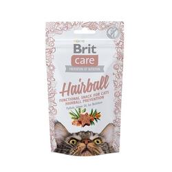 50g  Brit Care Cat Snack Hairball Katzensnacks