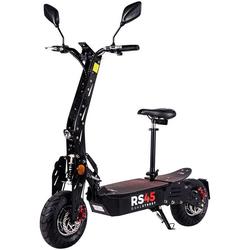 eFlux E-Bike RS45 Elektroroller, 2000 W, E-Scooter mit Straßenzulassung grau
