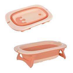 Ergonomische Babybadewanne rosa