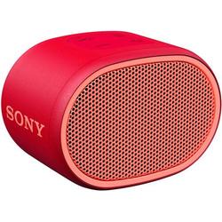 Sony SRS-XB01 Bluetooth® Lautsprecher AUX, Wasserfest Rot