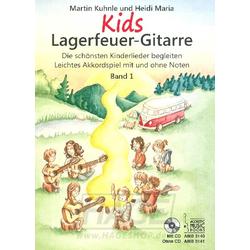 Kids Lagerfeuer Gitarre