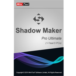 MiniTool ShadowMaker Pro Ultimate 3 Devices 1 Year MiniTool Solution Key GLOBAL