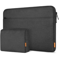 Inateck Laptop-Hülle 14 Zoll Laptoptasche für 14 Zoll Laptops, 15 Zoll MacBook Pro 2016-2019 schwarz
