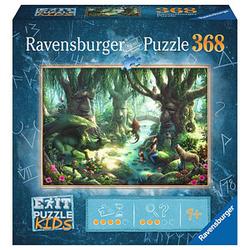 Ravensburger EXIT PUZZLE KIDS Der magische Wald Puzzle 368 Teile