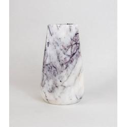 D'arte Stone Kerzenhalter AURA Kerzenhalter aus Marmor weiß