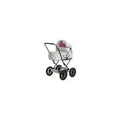 BRIO® Puppenwagen Puppenwagen Klassik, grau mit Punkten