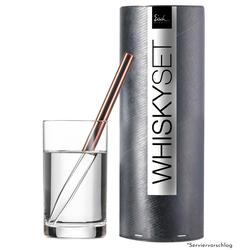Eisch Whiskypipetten Set mit Glas