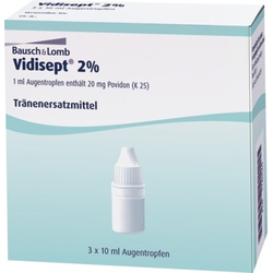 VIDISEPT 2% Augentropfen