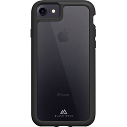 Black Rock  Robust Transparent  Cover Apple iPhone 7, iPhone 8, iPhone SE (2020) Schwarz, Transparen