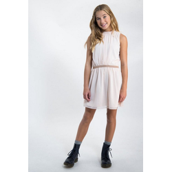 Garcia A-Linien-Kleid mit Glitzergürtel rosa 152/158