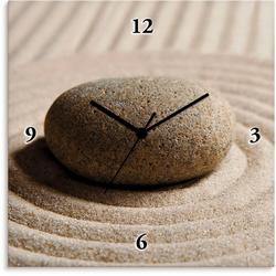 Artland Wanduhr Mini Zen Garten - Sand