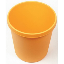 Groß-Papierkorb mit Rand 30l gelb