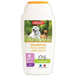 ZOLUX Shampoo für Hunde mit langem Fell, ohne Paraben, 250 ml