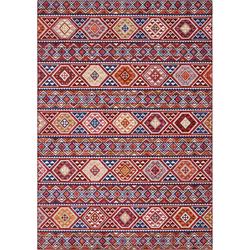 Teppich Anatolian, ELLE Decor, rechteckig, Höhe 5 mm, Orient-Optik, Wohnzimmer rot 80 cm x 150 cm x 5 mm
