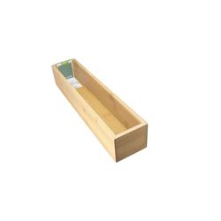 Neuetischkultur Aufbewahrungsbox Aufbewahrungsbox Bambus, Aufbewahrungsbox 38 cm x 7 cm x 8 cm