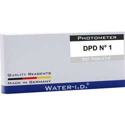 Water ID 50 Tabletten DPD N°1 für PoolLAB Tabletten