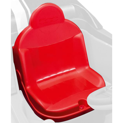 Peg Perego Sitz für Fiat 500 Red Elektroauto