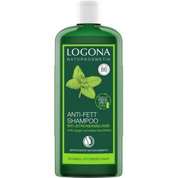 LOGONA Haarshampoo Logona Anti-Fett Shampoo Zitronenmelisse weiß