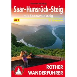 Saar-Hunsrück-Steig als Buch von Thomas Striebig