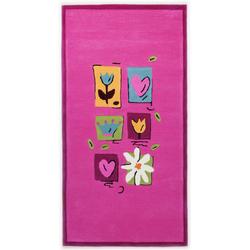 Kinderteppich Kindergarten MH-3658 (Pink; 80 x 150 cm)