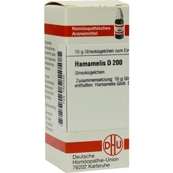 HAMAMELIS D 200 Globuli 10 g