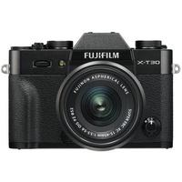 Fujifilm X-T30 schwarz + XC 15-45mm OIS PZ schwarz