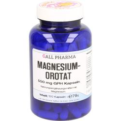 MAGNESIUMOROTAT 550 mg GPH Kapseln 120 St.