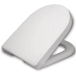 Woltu WC-Sitz, Klodeckel Wc Sitz, Kunststoff, Fast Fix, Weiß