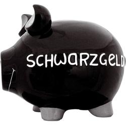 KCG 100005 Schwarzgeld Spardose Schwein groß schwarz