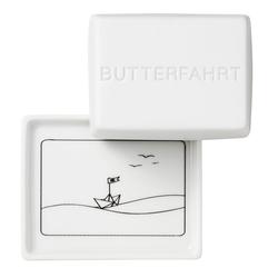 "Räder Butterdose Butterdose ""Butterfahrt"" 125 g"