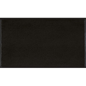 wash+dry Fußmatte, Raven Black 75x120 cm, innen und außen, waschbar