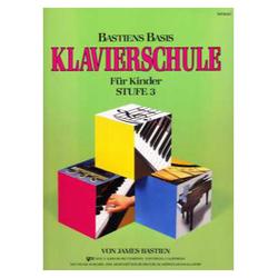 Bastiens Basis Klavierschule für Kinder Stufe 3