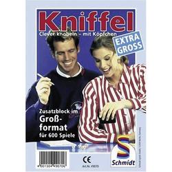 Kniffelblock groß 100 Blatt