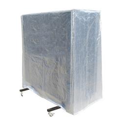 Donic Abdeckhülle für klappbare Tischtennisplatten aus transparenten Polyethylen,,