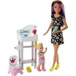 Barbie Skipper Babysitters Inc Puppen und Töpfchen