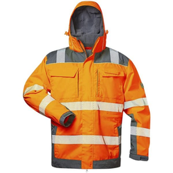 Warnschutz-Winterjacke 2in1 Stufe 3 Größe XL orange, elysee