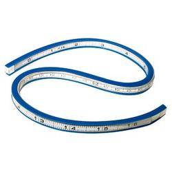 WESTCOTT Kurvenlineal TC-385    , weiß
