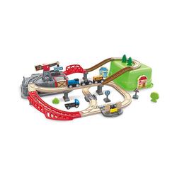 Hape Spielzeugeisenbahn-Set Eisenbahn-Baukasten-Set