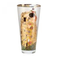"GOEBEL Vase Gustav Klimt - Der Kuss"""