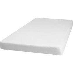 Playshoes Molton Spannbettlaken 100x200cm weiß