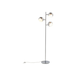 KARE Stehlampe Stehlampe Calotta Chrom